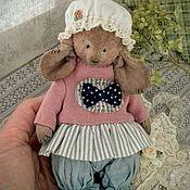 Мягкие игрушки ручной работы. Ярмарка Мастеров - ручная работа Мышка тедди!!! Веснушка!!!. Handmade.