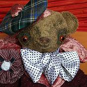 """Куклы и игрушки ручной работы. Ярмарка Мастеров - ручная работа тедди мишка """"Арчимбальд"""". Handmade."""