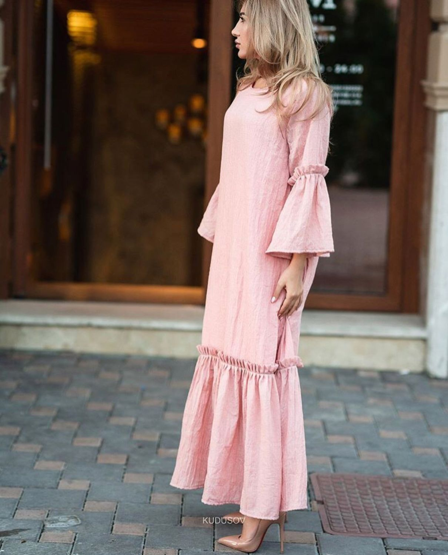 100% cotton dress, boho chic dress, Dresses, Moscow,  Фото №1