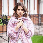 Одежда ручной работы. Ярмарка Мастеров - ручная работа V_028 Жакет в резинку, цвет розово-сиреневый. Handmade.
