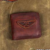 Сумки и аксессуары handmade. Livemaster - original item Man leather wallet `Imperium`. Handmade.