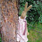 Куклы и игрушки ручной работы. Ярмарка Мастеров - ручная работа Зайчик в розовом платье в стиле Майлег. Handmade.