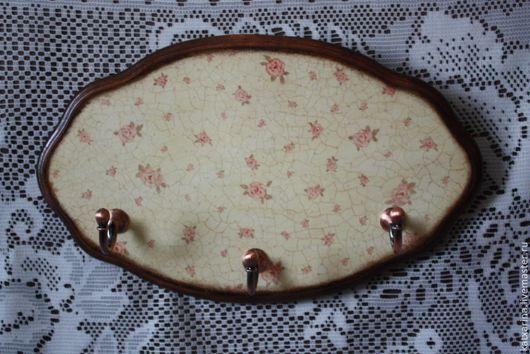 """Кухня ручной работы. Ярмарка Мастеров - ручная работа. Купить Вешалка для полотенец """"В розовых тонах..."""". Handmade."""