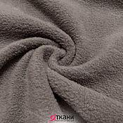 """Ткани ручной работы. Ярмарка Мастеров - ручная работа FLE 03-800 Флис двухсторонний начёс плотный. Цвет """"серый"""". Handmade."""