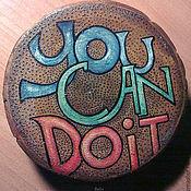 Картины и панно ручной работы. Ярмарка Мастеров - ручная работа You Can Do It !. Handmade.