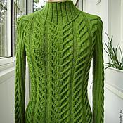 """Одежда ручной работы. Ярмарка Мастеров - ручная работа Пуловер """"Зеленый луг"""". Handmade."""