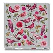 Материалы для творчества ручной работы. Ярмарка Мастеров - ручная работа бумага с птицами. Handmade.