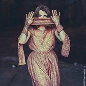 """Одежда ручной работы. Ярмарка Мастеров - ручная работа Платье """"Позолота"""". Handmade."""