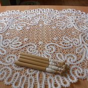 Для дома и интерьера handmade. Livemaster - original item tablecloth snowflake.. Handmade.