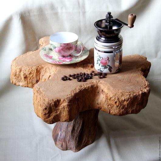 """Мебель ручной работы. Ярмарка Мастеров - ручная работа. Купить Мини-столик """"Цветок орхидеи"""". Handmade. Мини-столик"""
