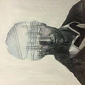 Картины и панно ручной работы. Ярмарка Мастеров - ручная работа Картина Настоящий детектив 3. Handmade.