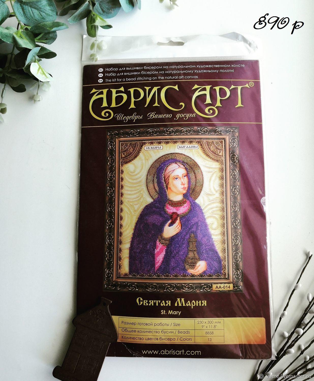 Абрис Арт Икона Святая Мария AA-014, Схемы для вышивки, Тула,  Фото №1