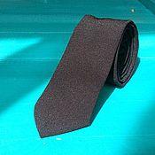 Аксессуары handmade. Livemaster - original item The black solid classic tie groom wedding. Handmade.