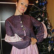 """Одежда ручной работы. Ярмарка Мастеров - ручная работа Жакет валяный """"Джульетта"""". Handmade."""