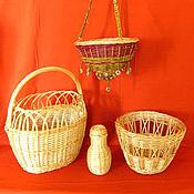 Для дома и интерьера ручной работы. Ярмарка Мастеров - ручная работа Плетение из лозы. Handmade.