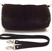 Аксессуары handmade. Livemaster - original item Clutch made of mink fur.. Handmade.