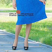 """Одежда ручной работы. Ярмарка Мастеров - ручная работа Вязаная юбка """"Tiana"""" со жгутами. Handmade."""