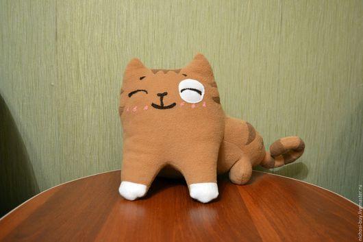 """Игрушки животные, ручной работы. Ярмарка Мастеров - ручная работа. Купить Мягкая игрушка кот """"Персик"""" из стекеров Вконтакте 30 см. Handmade."""