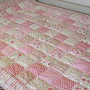 """Одеяла ручной работы. Ярмарка Мастеров - ручная работа Лоскутное одеяло""""Райский сад""""Продано. Handmade."""