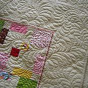 Для дома и интерьера ручной работы. Ярмарка Мастеров - ручная работа Детское одеяло. Handmade.