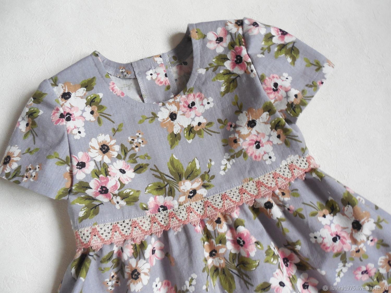 Сестренкам. Платье для девочки. Рост 100