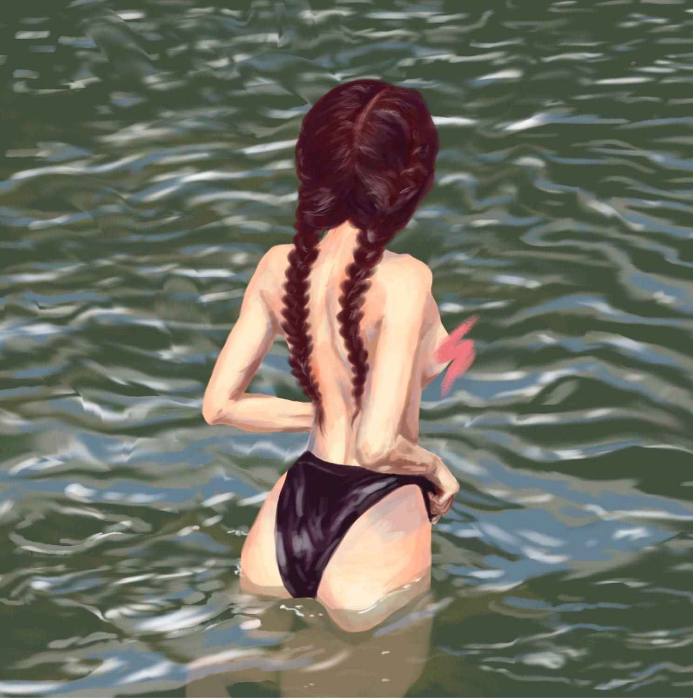Озеро, Иллюстрации, Тюмень,  Фото №1
