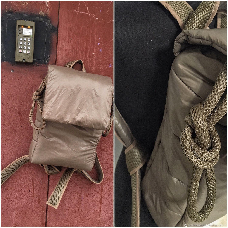 f47781e28ba6 Рюкзаки ручной работы. Ярмарка Мастеров - ручная работа. Купить Стёганый  рюкзак в цвете: ...