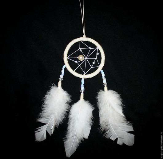 """Ловцы снов ручной работы. Ярмарка Мастеров - ручная работа. Купить Ловец снов """"White star"""". Handmade. Белый"""