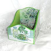 Для дома и интерьера handmade. Livemaster - original item Box for spices Herbs of Provence. Handmade.