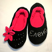 Обувь ручной работы handmade. Livemaster - original item Ballet Slippers with rhinestones. Handmade.