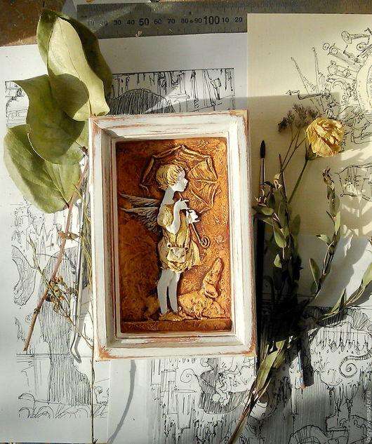 Символизм ручной работы. Ярмарка Мастеров - ручная работа. Купить панно Ангел. Handmade. Ангел, настенное панно, дача