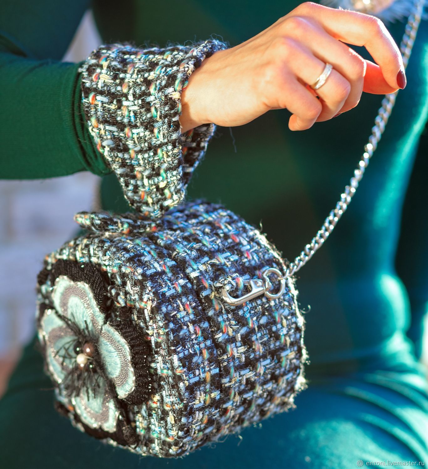 Bag in the style of Mademoiselle Chanel, Crossbody bag, Moscow,  Фото №1