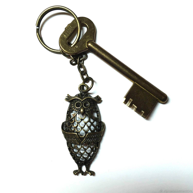 """Брелок для ключей """"Сова"""", брелок для сумки"""