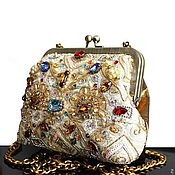 Сумки и аксессуары handmade. Livemaster - original item Evening handbag with embroidery. Handmade.