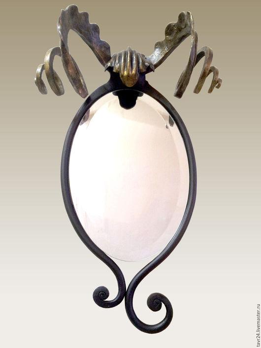 Зеркала ручной работы. Ярмарка Мастеров - ручная работа. Купить Зеркало настенное Овен. Handmade. Комбинированный, настенное зеркало