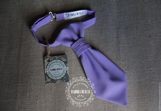 Детский галстук `Аскот` (имитация). Прекрасный школьный аксессуар, украсит любую школьную форму, как для одного ученика, так и для всего класса или школы.