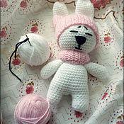 Куклы и игрушки ручной работы. Ярмарка Мастеров - ручная работа Милая зайка Соня. Handmade.