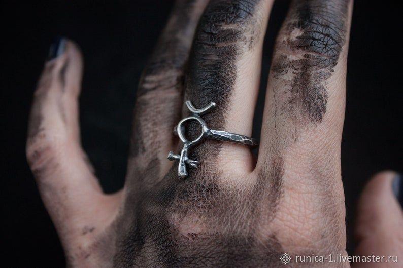 Кольцо Меркурий, Фаланговое кольцо, Севастополь,  Фото №1