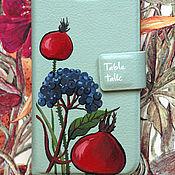 Сумки и аксессуары ручной работы. Ярмарка Мастеров - ручная работа чехол Ягодный  для iPhone. Handmade.
