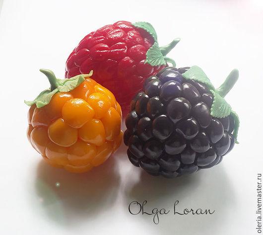 Необычные сочные и яркие шкатулки ягодки из полимерной глины. Оригинально смотрятся в интерьере кухни и гостиной.