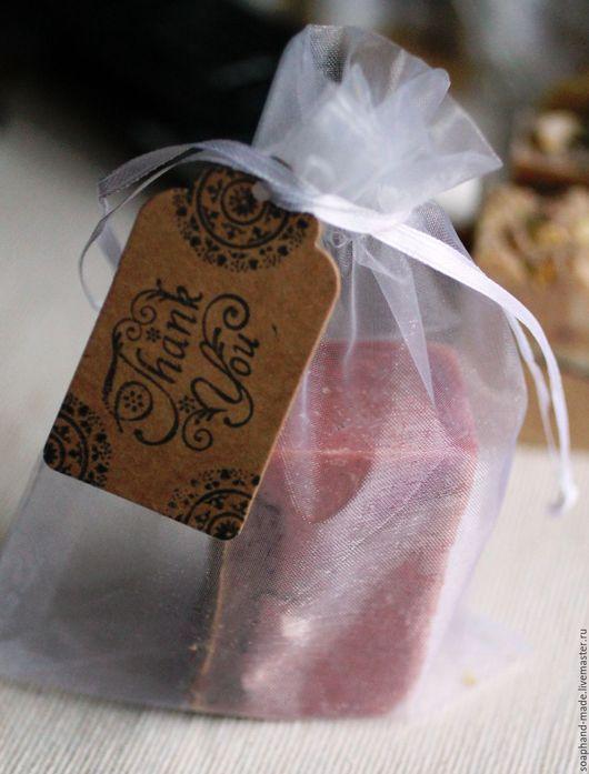 Упаковка ручной работы. Ярмарка Мастеров - ручная работа. Купить Мешочки из органзы для упаковки мыла. Handmade. Комбинированный, многоцветный