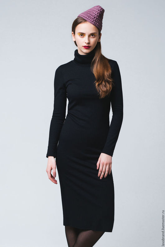 Платья ручной работы. Ярмарка Мастеров - ручная работа. Купить Платье Лапша Черный. Handmade. Черный, однотонный