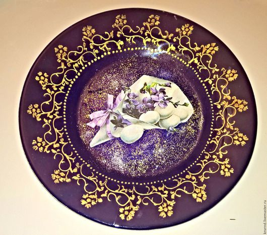 Декоративная посуда ручной работы. Ярмарка Мастеров - ручная работа. Купить Тарелка пасхальная декоративная.. Handmade. Комбинированный, пасхальный сувенир