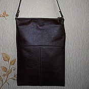 Сумки и аксессуары handmade. Livemaster - original item Bag tablet genuine leather
