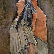 Картины и панно handmade. Livemaster - original item Oil painting Legend of love. Handmade.