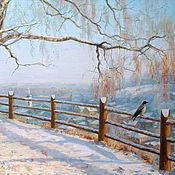 Картины и панно handmade. Livemaster - original item Pictures: Winter spaces. Handmade.