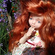 Куклы и игрушки ручной работы. Ярмарка Мастеров - ручная работа Дашенька, авторская шарнирная кукла. Handmade.