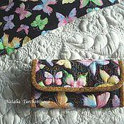 Сумки и аксессуары handmade. Livemaster - original item textile, quilted wallet