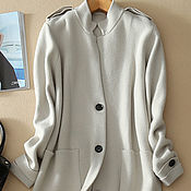 Одежда handmade. Livemaster - original item Trench coat from pure cashmere. Handmade.