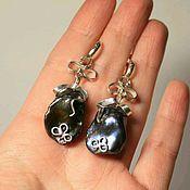 Украшения handmade. Livemaster - original item Earrings Night. Handmade.